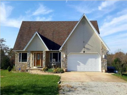 Home For Sale In Southern Mo Ozarks : Mountain Grove : Wright County : Missouri