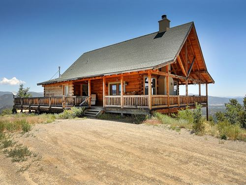 5301941 Custom Built Log Home : Salida : Chaffee County : Colorado