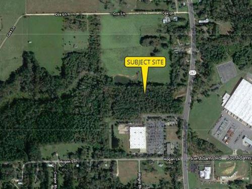 16 Acres, Pat Thomas Parkway : Quincy : Gadsden County : Florida