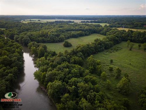 111 Acres Along Spring River : Purcell : Jasper County : Missouri