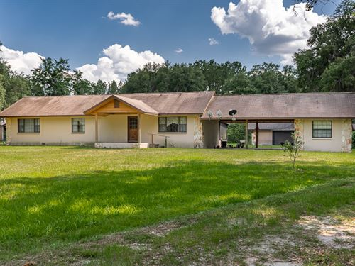 Unique Farm With 2 Creeks : Lake City : Columbia County : Florida