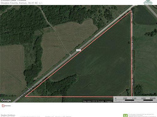 Clinton Lake Tillable : Lawrence : Douglas County County : Kansas