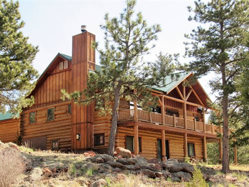 Cap Rock Retreat : Livermore : Larimer County County : Colorado