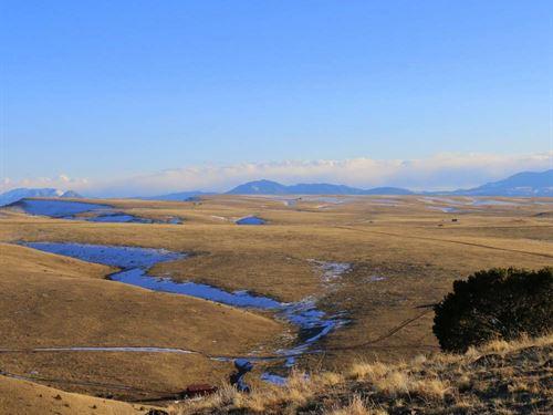 Zane's Place on Froze Creek : Westcliffe : Custer County : Colorado
