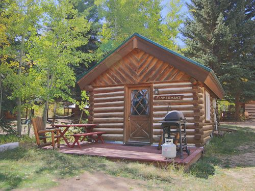 The Historic Shadow Mountain Guest : Granby : Grand County : Colorado