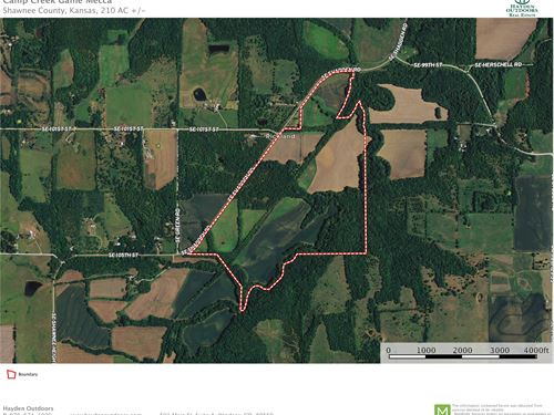 Camp Creek Game Mecca : Overbrook : Shawnee County : Kansas