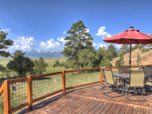 Unique Lake View Getaway : Westcliffe : Custer County : Colorado