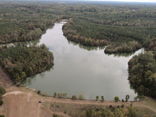 Bullock County Land With Nice Lake : Union Springs : Bullock County : Alabama