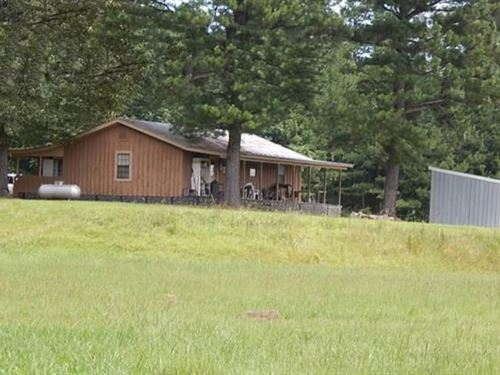 96.5 Acres With A Cabin In Scott CO : Morton : Scott County : Mississippi