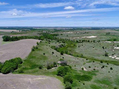 755 Acres of Hunting, Pasture : Phillipsburg : Phillips County : Kansas