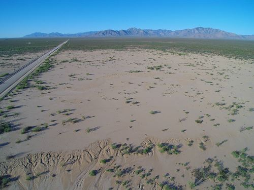 Nice Prime Ag/Res Land, $380 P/M : San Simon : Cochise County : Arizona