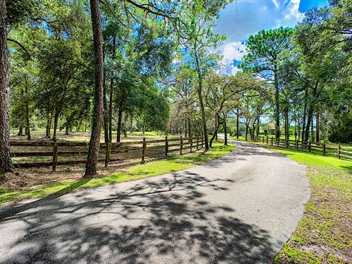 40 Ac Horse Ranch, Great Location : Brooksville : Hernando County : Florida