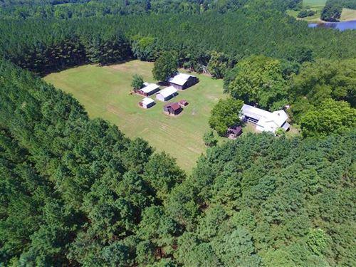Under Contract, 81.72 Acres of Ru : Emporia : Greensville County : Virginia