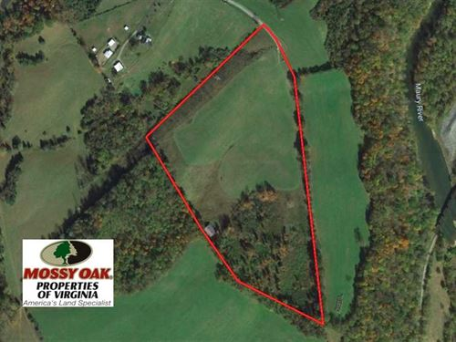 Reduced, 34 Acres of Residential : Lexington : Rockbridge County : Virginia