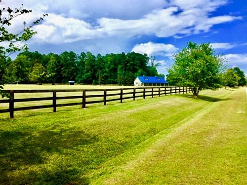 Horse Farm / Investment Beaufort Co : Blounts Creek : Beaufort County : North Carolina
