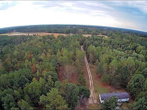 39.4 Acres of Recreational Land Fo : Kenbridge : Lunenburg County : Virginia