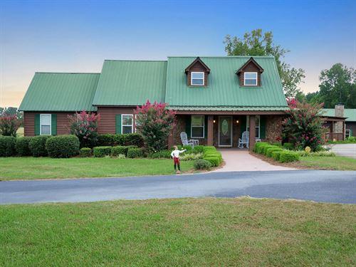 52-Acre Country Estate, Farm : Warrenton : Warren County : Georgia