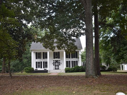 Hostoric Plantation Home : Eatonton : Putnam County : Georgia