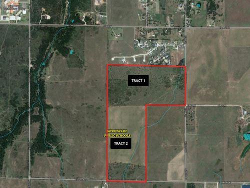 2-80 Acres Tracts : Woodward : Oklahoma
