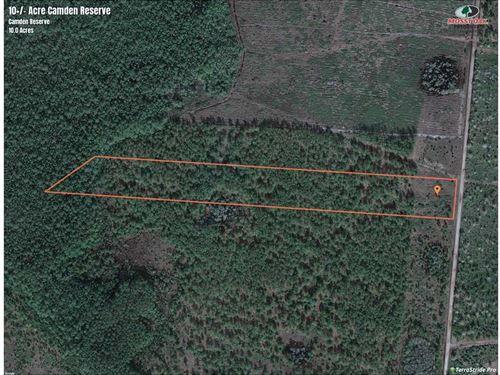 10 Acres Land For Sale Camden CO : White Oak : Camden County : Georgia