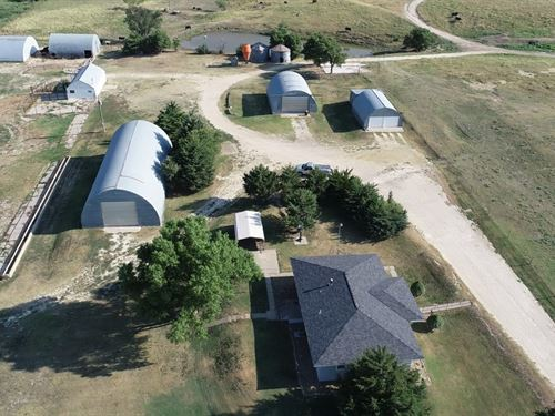 Farm / Ranch & Investment Potential : Hays : Ellis County : Kansas