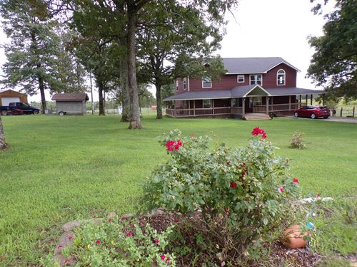 Arkansas Country Home W/Acreage : Marshall : Searcy County : Arkansas