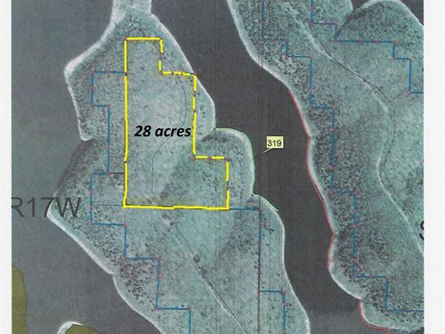 Main Channel View & 25Ac, Over 1/2 : Yellville : Marion County : Arkansas
