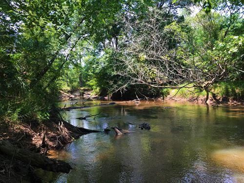 Echeconee Creek Hunting & Fishing : Byron : Crawford County : Georgia