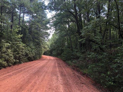 Hunnon Branch : Sparta : Hancock County : Georgia