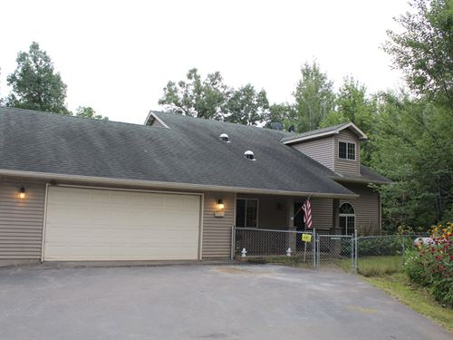 3Br Country Home For Sale Milaca : Milaca : Mille Lacs County : Minnesota