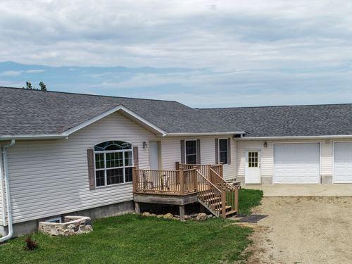 Beautiful 32 Acre Hobby Farm : Summit : Roberts County : South Dakota