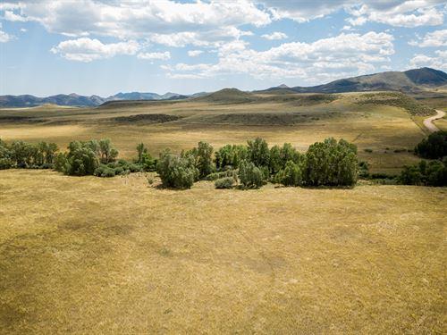 Quarter Circle Lazy H Ranch-Lot : Livermore : Larimer County : Colorado