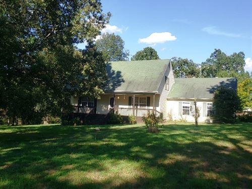 Country Home 21.5 Acres Outside : Salem : Fulton County : Arkansas