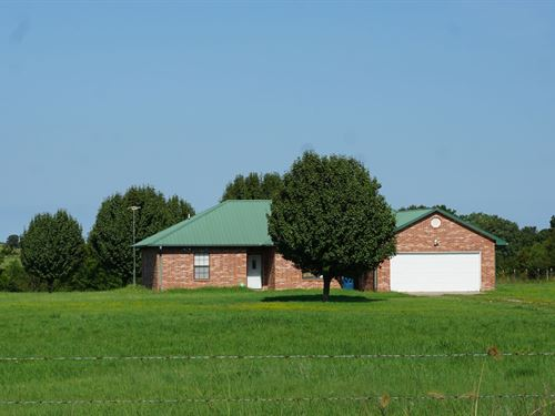 No Reserve Auction Central OK : Agra : Lincoln County : Oklahoma