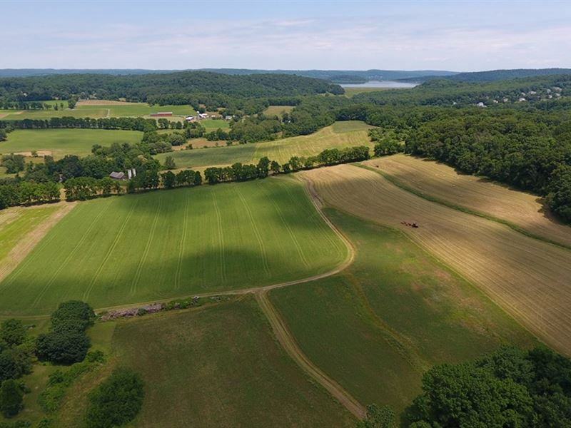 207.4+/- Acres Preserved Land : Clinton : Hunterdon County : New Jersey