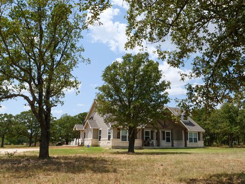 2019 Home On 13.545 Acres : Rockdale : Milam County : Texas