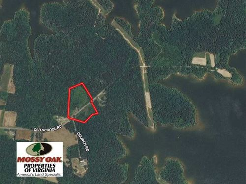 10 Acres of Recreational Land in : Clarksville : Mecklenburg County : Virginia