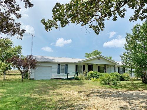 Black Rock, AR Country Home Acreage : Black Rock : Lawrence County : Arkansas