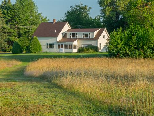 Maine Farm And Homestead Property : Lee : Penobscot County : Maine