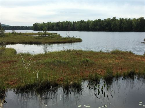 Lakefront Land in Lincoln, Maine : Lincoln : Penobscot County : Maine