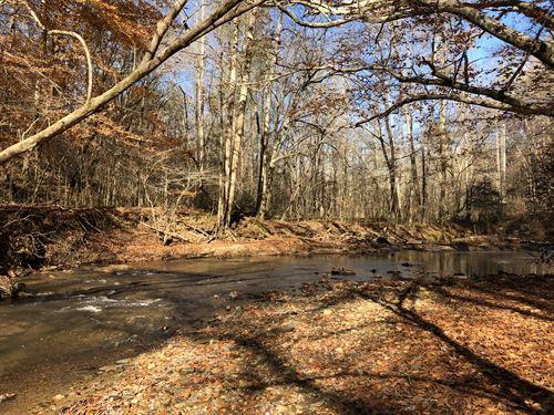 Toxaway Creek Rec Mountain Land : Westminster : Oconee County : South Carolina