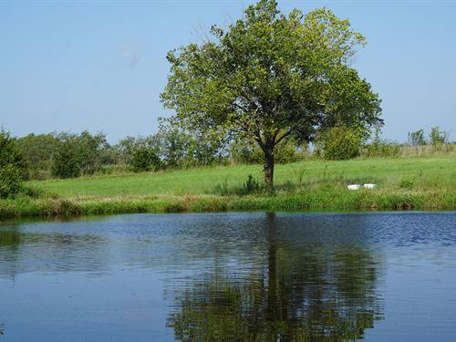 Fishing & Hunting Getaway Acreage : Sparks : Lincoln County : Oklahoma