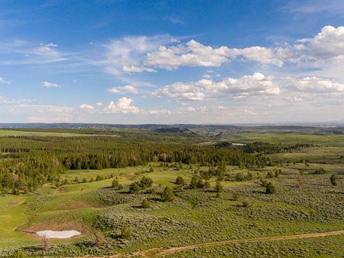Muddy Mtn Corral Creek : Casper : Natrona County : Wyoming