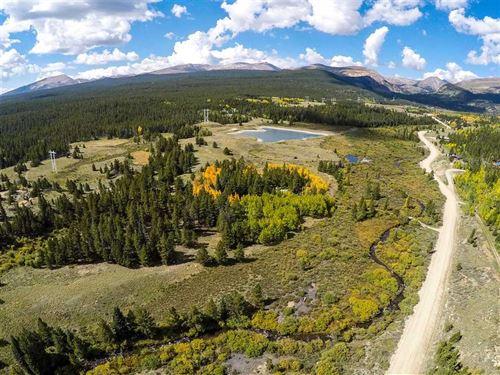 Back ON Market, 56 Acres, 2 Deede : Alma : Park County : Colorado