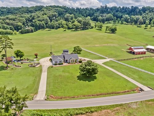 48 Acre East Tn Ranch Near I-75 : Riceville : McMinn County : Tennessee