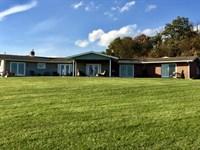 40 Acres With Home Overlooking : Benton : Columbia County : Pennsylvania