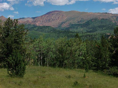 Big Pikes Peak View : Cripple Creek : Teller County : Colorado