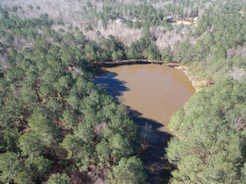 Estate Lot With Pond : Hamilton : Harris County : Georgia