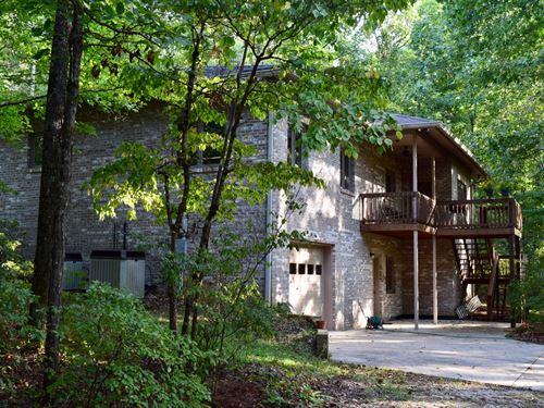 150+/- Ac, Home In Tallapoosa / Lee : Camp Hill : Tallapoosa County : Alabama
