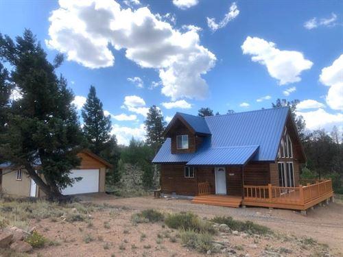 Gold Quartz Hunting Cabin : Gunnison : Saguache County : Colorado